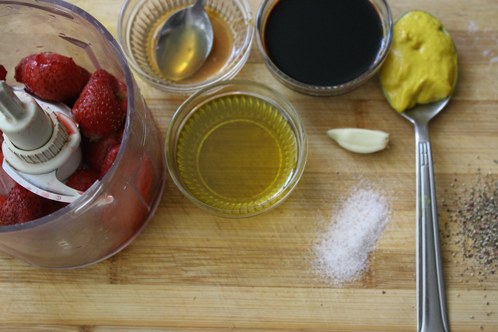 Recipe: Roasted Strawberry Balsamic Vinaigrette