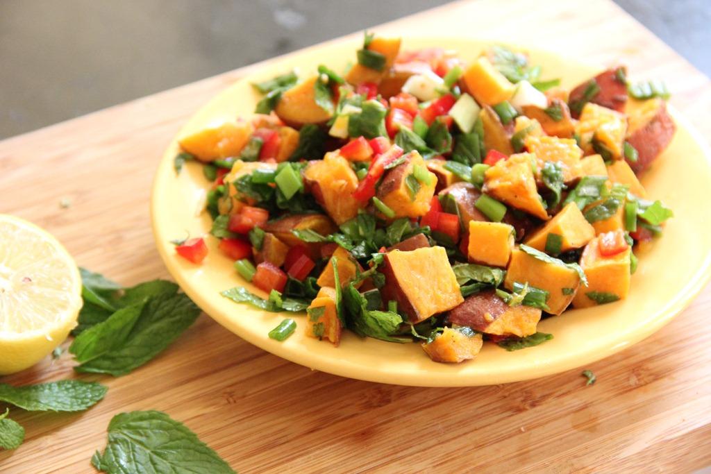 Zesty Sweet Potato Salad | Glow Kitchen