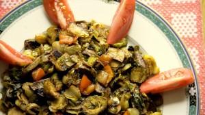 spiced roasted vegetables