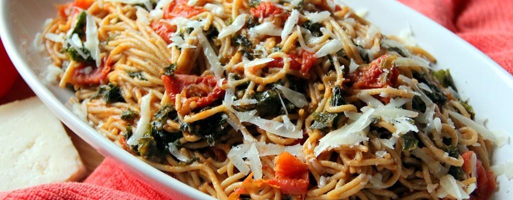 kale spaghetti