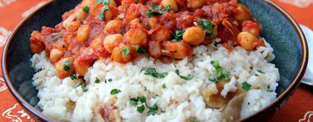 chickpea and rice recipe