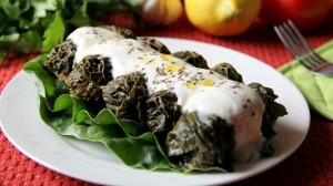 bulgur kale wraps