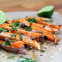 Tahini Glazed Sweet Potato Fries with Lime and Spice