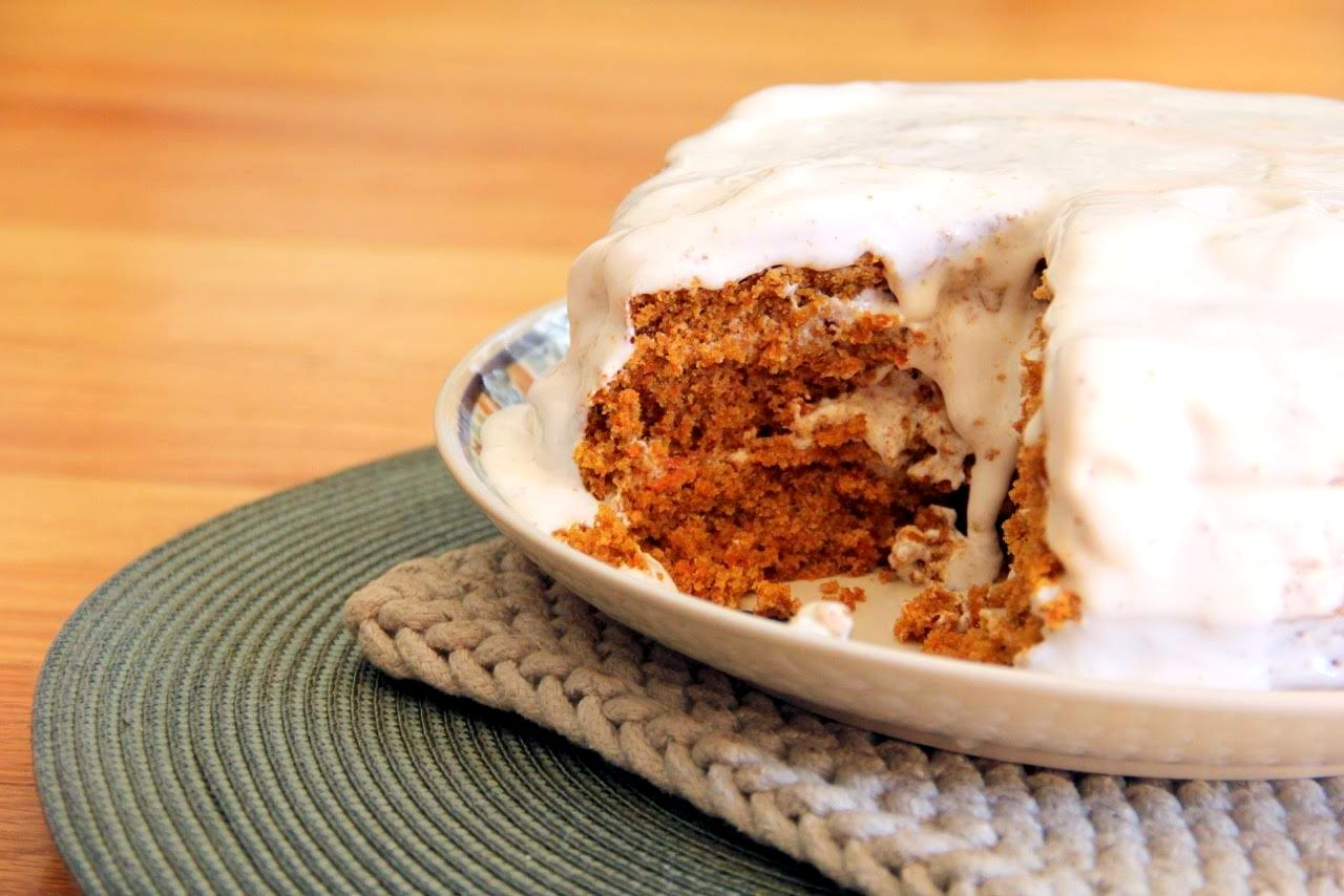 Gluten-Free Vegan Carrot Cake Recipe
